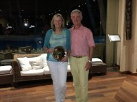 Our winners Peter & Julie Morgan