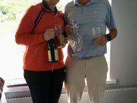 Bournemouth Mixed Pairs Winners - David Beaney & Alison White
