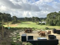 View from the clubhouse at Parkstone