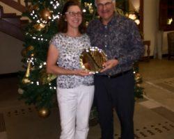 Our winners: John & Anna Clark