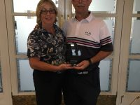 Winners of the Bowood Mixed Pairs - Brian & Gail Pinner