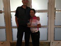 Day 2 Winners Peter & Josie Sheridan