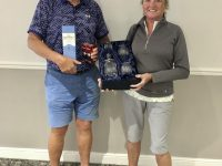 Forest Pines Mixed Pairs Winners - Pat & Judy McLaughlin