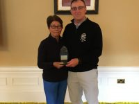 Day 1 - Winners Martyn & Irene Hancox