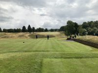 First tee at Sherwood Forest
