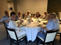 Great fun at the group dinner!
