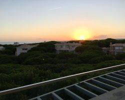 Sunset over Praia Verde