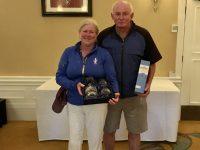St. Pierre Mixed Pairs Winners - Malcolm & Elsbeth Morton