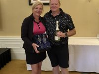 Day 2 Winners - Noel & Alison McDermott