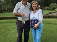 The Lakes course winners - Jim & Ann Green