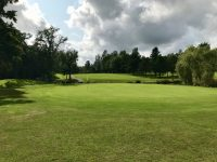 The Lakes 18th green