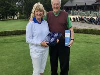 The Vale Mixed Pairs Winners - Colin & Jane Wayman