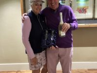 Day 1 Winners - John Adam & Pamela Little
