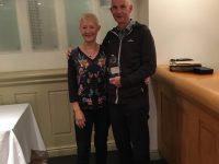 1st Day Winners Mark & Jan Evans