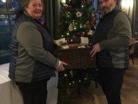 Winners of The Thorpeness Mixed Pairs: John & Sian Duncan