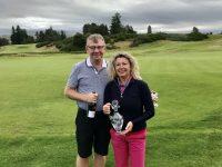 Winners King's course - Bill Carey & Mandy Miller