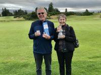 Winners of the Gleneagles Mixed Pairs - Neil & Jean Dalton