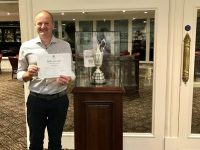 """Congratulations Shaun Davies on his fantastic achievement of a """"Hole in One"""" on the 10th, """"Robert the Bruce"""" course"""