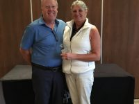 Day 1 - 2nd Place, Steve & Julia Rigby
