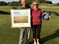 Scottish Mixed Pairs Champions Tony & Sylvia Cockell