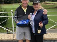 Winners of the Woodhall Spa Mixed Pairs - Robin & Trish Tweedle